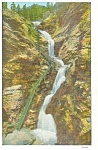 Click here to enlarge image and see more about item p5282: Cheyenne Canon CO Seven Falls  Postcard p5282