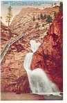 Colorado Springs, Lower Seven Falls  Postcard