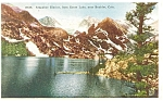 Click here to enlarge image and see more about item p5290: Boulder  CO Arapahoe Glacier Postcard