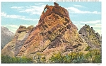 Click here to enlarge image and see more about item p5301: Garden of The Gods CO Postcard p5301