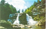 Click here to enlarge image and see more about item p5304: Dovis  WV Blackwater Falls Postcard
