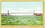 New York City Williamsburg Bridge Postcard p5320
