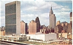 Click here to enlarge image and see more about item p5321: New York City United Nations Postcard