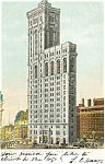 New York City Times Building Postcard 1906
