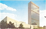 Click here to enlarge image and see more about item p5329: United Nations Headquarters New York City Postcard p5329