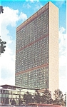 United Nations Headquarters Building Postcard