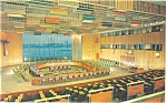 United Nations Trusteeship Council Postcard p5335