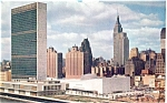 Click here to enlarge image and see more about item p5336: United Nations River Side Postcard