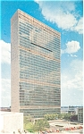 United Nations Headquarters Postcard 1963