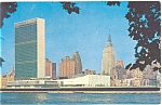 Click here to enlarge image and see more about item p5341: Headquarters of United Nations Postcard p5341