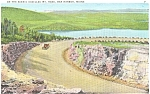 Click here to enlarge image and see more about item p5361: Bar Harbor ME Cadillac Mt Road Postcard p5361