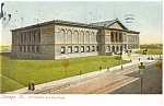 Click here to enlarge image and see more about item p5376: Chicago IL Art  Institute Postcard