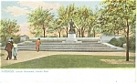 Chicago IL Lincoln Monument Tuck s Postcard p5382
