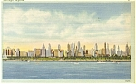 Chicago IL Chicago Skyline Postcard