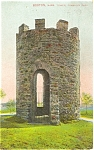Click here to enlarge image and see more about item p5427: Boston MA The Tower in Franklin Park Postcard