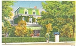 Winchester VA Birthplace Adm. Byrd Postcard