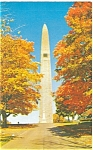 Click here to enlarge image and see more about item p5445: Bennington VT Battle Monument Postcard