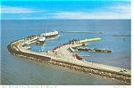 New Brunswick Ferry Terminal Postcard p5447