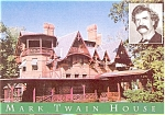 Click here to enlarge image and see more about item p5455: Hartford CT Mark Twain House Postcard p5455