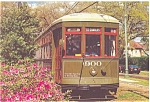 Click here to enlarge image and see more about item p5464: New Orleans LA Streetcar Postcard