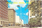 Wichita KS Douglas Street  Main St  Postcard