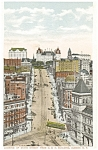 Albany NY State Street Vintage Postcard p5483