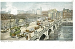 Glasgow Scotland Bridge Trolley Postcard