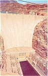 Click here to enlarge image and see more about item p5494: Boulder Hoover Dam Postcard p5494