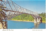 Click here to enlarge image and see more about item p5496: Bridge of The Gods, Across the Columbia River