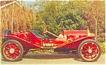 Click here to enlarge image and see more about item p5537: 1911Marmon Speedster Advertising Postcard