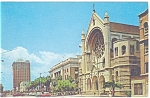Tampa FL, Florida Avenue Postcard