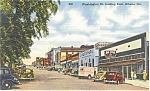 Click here to enlarge image and see more about item p5579: Athens, GA Street Scene Vintage Cars