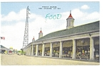 Click here to enlarge image and see more about item p5589: New Orleans LA French Market p5589