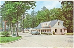 Colonial Heights, VA, Danner's Motel Postcard