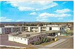 Click here to enlarge image and see more about item p5677: Dawson Creek, BC, Travelodge Motel Postcard