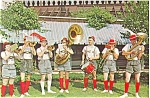 Click here to enlarge image and see more about item p5710: Frankenmuth MI Om-Pah Pah Band Postcard p5710