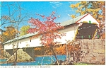 Click here to enlarge image and see more about item p5728: Smith Eastman Covered Bridge New Hampshire p5728