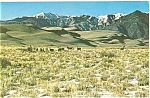 Click here to enlarge image and see more about item p5738: Great Sand Dunes Colorado p5738