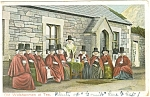 Click here to enlarge image and see more about item p5781: Welshwomen at Tea Wales Postcard p5781 ca 1909