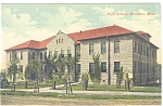 Click here to enlarge image and see more about item p5797: Meridian MS High School Postcard p5797