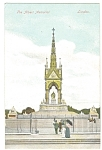 Click here to enlarge image and see more about item p5802: London, England, The Albert Memorial Postcard