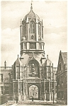 Click here to enlarge image and see more about item p5827: Oxford Christchurch Tom Towe Postcard