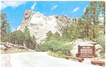 Click here to enlarge image and see more about item p5857: Rushmore National Memorial Black Hills SD p5857