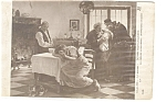 Depart Pour La Guerre Early French Postcard