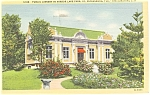 Click here to enlarge image and see more about item p5882: St.Petersburg FL Public Library Postcard p5882