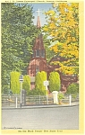 Click here to enlarge image and see more about item p5886: St. James Episcopal Church  Sonora  CA  Linen Postcard p5886