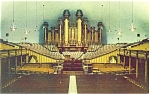 The Tabernacle Temple Square Salt Lake City UT Postcard p5887