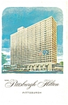 Pittsburgh PA The Pittsburgh Hilton Postcard p5892