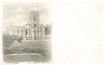 Click here to enlarge image and see more about item p5900: Fountains Abbey  Great Britain Postcard p5900