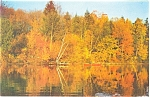 Click here to enlarge image and see more about item p5922: Cloyne Ontario Canada Autumn Scene Postcard p5922